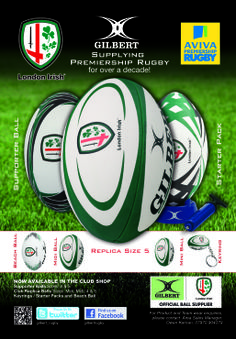 London Irish Irish Rugby, Rugby Club, Crests, A Decade, Balls, Advertising, London, Quotes, Shirts