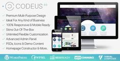 Codeus v3.3.4 – Multi-Purpose Responsive WordPress Theme