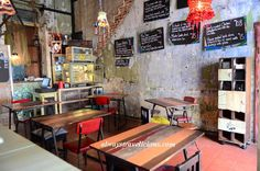 The cafe scene in Ipoh is more vibrant than ever, with all sorts of new boutique cafes or hipster cafes popping out so fast that it's hard to keep track.  #ipoh #malaysia #food #cafes