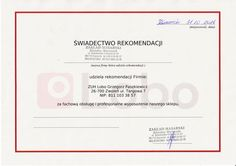 Rekomendacja Lobo www.lobo.com.pl