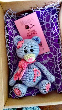Items similar to Crochet bear, Amigurumi, Perfect gift, Handmade, Stuffed animal on Etsy Looking For Friends, Crochet Bookmarks, Crochet Bear, Secondary Color, Funny Gifts, Teacher Gifts, Teddy Bear, Toys, Handmade Gifts
