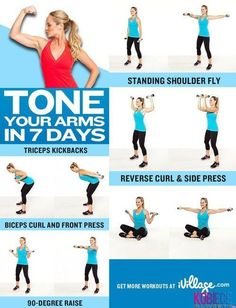 Arm Toning Tips. Tone your #Arms