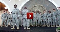 You Will Feel Proud to Be an American After You Listen to This Soldier Choir :) - Music Video