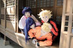 漩渦一家! - pmumpkinkaoru(阿馨) Himawari Uzumaki, うずまきナルト, DK(DK) Boruto Uzumaki, KK(KK) 日向ヒナタ コスプレ写真 - WorldCosplay