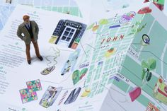 Bonjour New-York by Marin Montagut. #NY #map