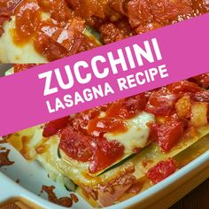 I have made this Zucchini Lasagna recipe for a few years now, and it always gets rave reviews from family and guests. #zuchini #lasagna #recipe #easy #healthy #keto #vegetarian #turkey Low Carb Keto, Low Carb Recipes, Low Carb Zucchini Lasagna, Turkey Lasagna, Vegetarian Turkey, Food To Make, Stuffed Peppers, Meals, Dinner