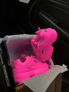 Pinky FILA DISRUPTOR II💕 Toddler Sizes at the bottom of list *If you want another color, order and put the color swap in the note section* IF YOU. Browse all products in the FILA category from RichyCustoms. Moda Sneakers, Cute Sneakers, Shoes Sneakers, Allbirds Shoes, Shoes Men, Cute Baby Shoes, Baby Girl Shoes, Girls Shoes, Tenis Nike Air