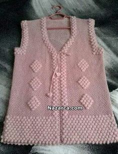 Kate's Crochet World Baby Knitting Patterns, Knitting Designs, Crochet Patterns, Woolen Dresses, Crochet Coat, Crochet Baby Clothes, Jacket Pattern, Baby Sweaters, Indian Designer Wear