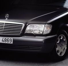 W140 - the great Mercedes S-Class