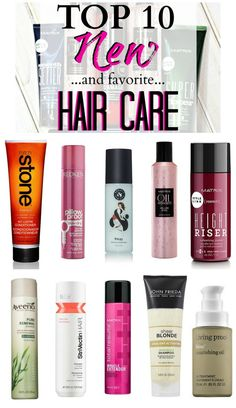 Top 10 New Hair Care Lines