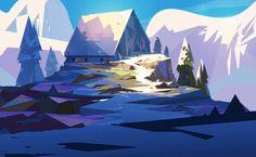 ArtStation - Blue Mountain, Jordan Grimmer