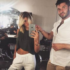 Sofia Richie Andy Lecompte Salon West Hollywood Glamour Hair, Sofia Richie, Beautiful Soul, West Hollywood, Going Crazy, Fashion Addict, Girl Hairstyles, Hair Makeup, Celebs