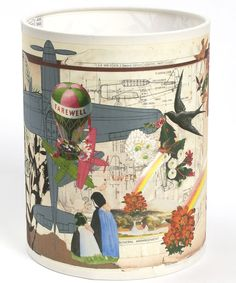 Farewell Lamp Shade, Laura Oakes. Shop more from the Laura Oakes collection at Liberty.co.uk