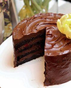 Unelmaa leipomassa: MY SPECIAL CHOCOLATE CAKE ♥