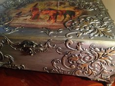 Купить Шкатулка деревянная Царская охота - шкатулка, шкатулка декупаж, шкатулка ручной работы