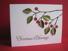 Christmas Blessings by lisaadd - Cards and Paper Crafts at Splitcoaststampers