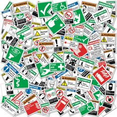 New ANSI Safety Signs...