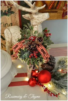 Rosemary and Thyme: 2015 Christmas Home Tour - Part 1