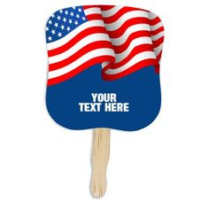 Are you trying to make new fans for your business or organization? We have got a gift that will help you to achieve your target! 7.625 x 8 inch promotional patriotic hand fans are perfect to raise awareness about your brand during parades and political