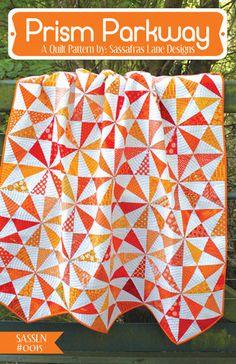 Prism Parkway - PDF Quilt Pattern – Sassafras Lane Designs xxx