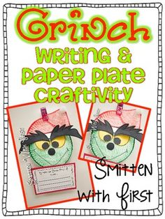 "Grinch Writing & Craftivity {FREEBIE}....Follow for Free ""too-neat-not-to-keep"" teaching tools & other fun stuff :)"