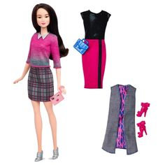 Barbie® Fashionistas™ 36 Chic with a Wink Doll & Fashions - Original  - Shop.Mattel.com