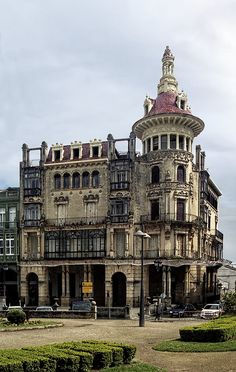 Edificio, Galicia is a beautiful spot to look at the different and creative architecture of Spain.