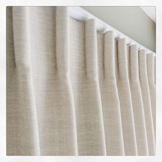 Cartridge or baguette heading Window Panels, Window Coverings, Window Treatments, Drapery Ideas, Curtain Headings, Window Styles, Curtain Designs, Curtains With Blinds, Coastal Living