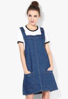 Buy Miss Bennett London Denim Pini Dress Online - 3182741 - Jabong 7d268192d