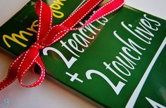 GroopDealz | Personalized Teacher Sign- never too early to think Teacher appreciation!!