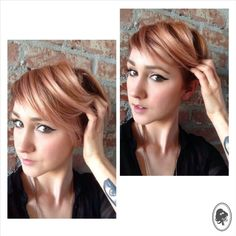 Wella Instamatic- Pink dream +/34 Special Mix Color by Hairroin LA/NYC Director Sarah Merrie www.hairroinsalon.com