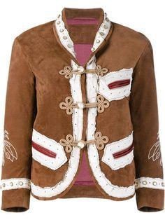 Gucci куртка с вышивкой