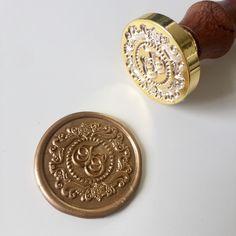 Wedding wax seal stamp No79 FS
