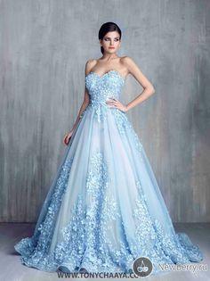 Свадебные и вечерние платья Tony Chaaya Haute Couture 2016