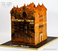Hollywood Tower of terror cake