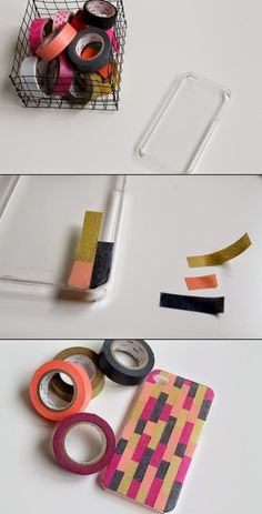 you can make your own phone case my using a plain phone case ribbon scissors and glue by. Black Bedroom Furniture Sets. Home Design Ideas