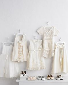 White Flower-Girl Dresses