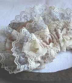 vintage lace garter