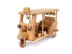 Srilankan Wooden Tuk Tuk Rickshaw Home Decor Decorative Ornament Traditional