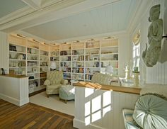 Someplace for the two of us to sit quietly and read.....and read.....and read....