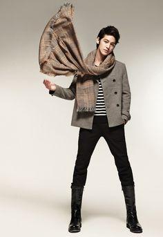 Kim Bum (Korean men dress so much better than American men)