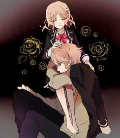 Anime couple ~ diabolik lovers