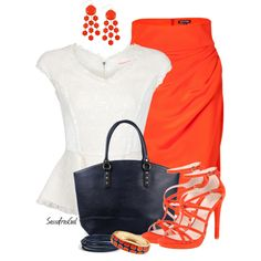 """""""Pencil Skirt"""" by sassafrasgal on Polyvore"""