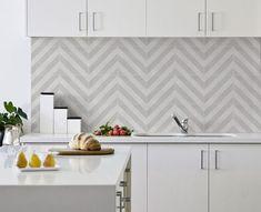 Кухонный фартук из плитки: 25 интересных решений в нейтральном цвете – Вдохновение
