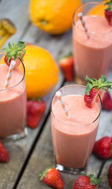 Citrus Berry Smoothie