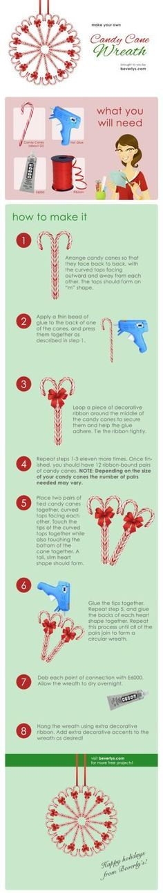 Candy Cane Wreath by katheryn