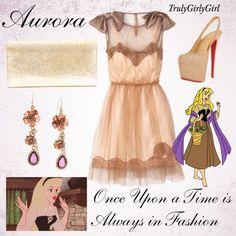 Disney Style: Aurora (2), created by trulygirlygirl on Polyvore