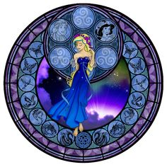 Akili's Stained Glass Window by Akili-Amethyst.deviantart.com on @deviantART