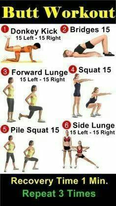 Butt workout. :-D