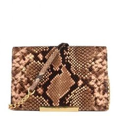 MICHAEL Michael Kors Blossom Python Embossed Wallet Clutch - MICHAEL Michael Kors from Brand Boudoir UK #handbag #michaelkors #women #designer #covetme